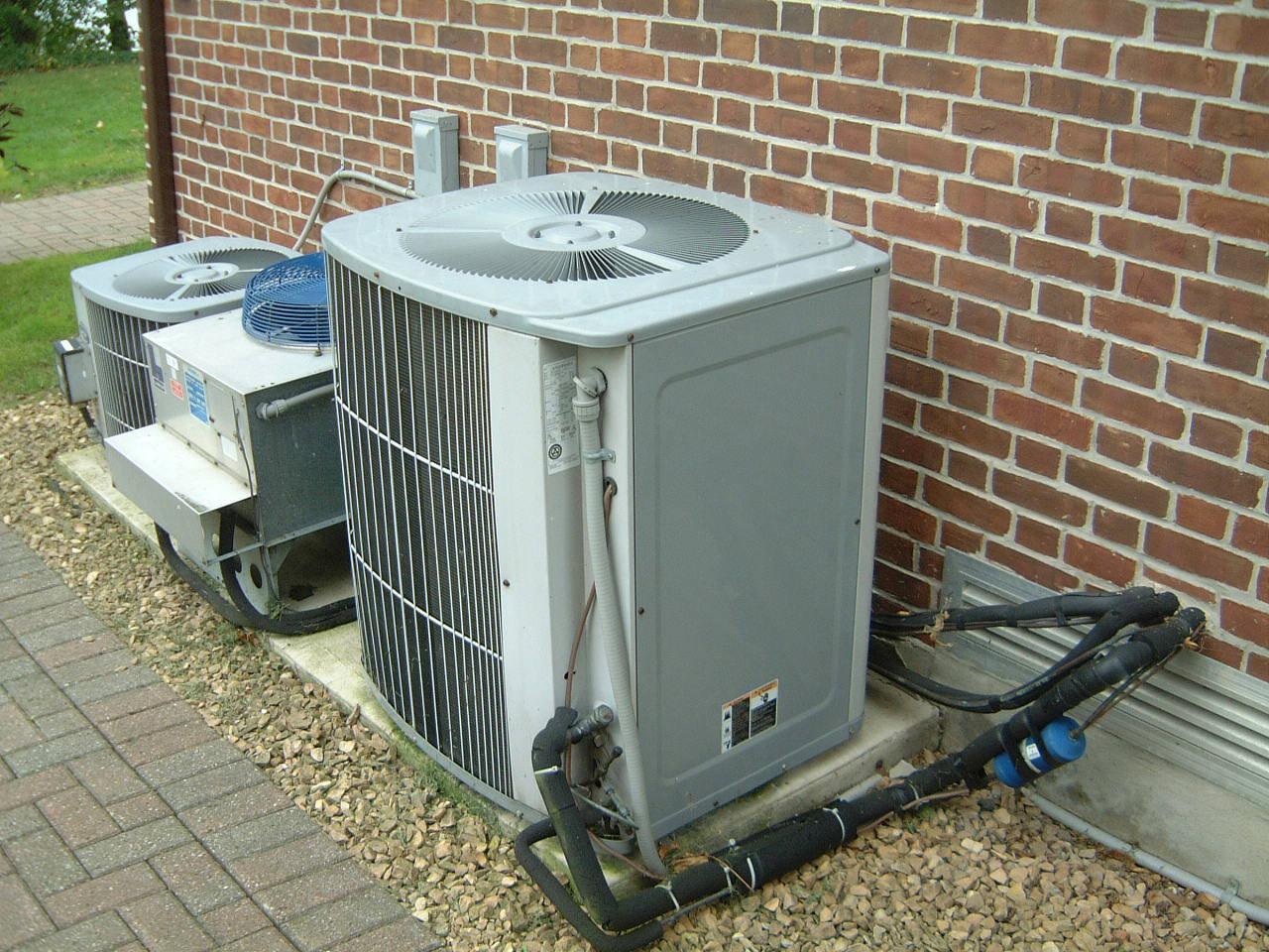 Photo of AC equipment.