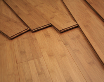Photo of bamboo flooring.
