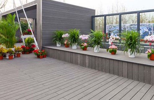 Photo of decking.