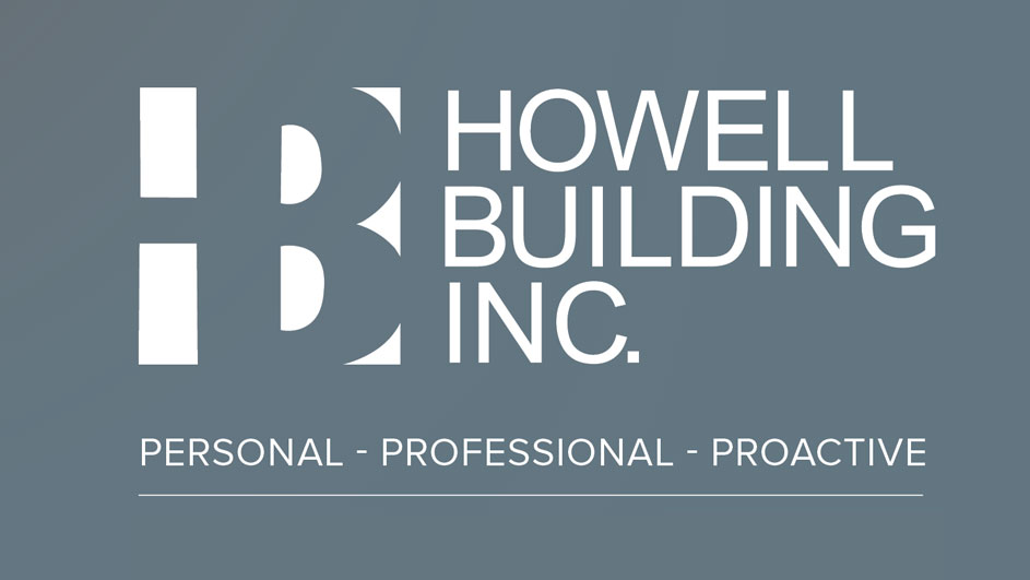 Howell Building Inc. Logo | Personal - Professional - Proactive