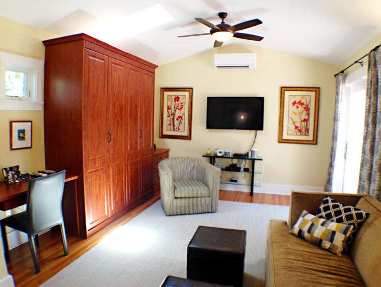 Living room renovation.